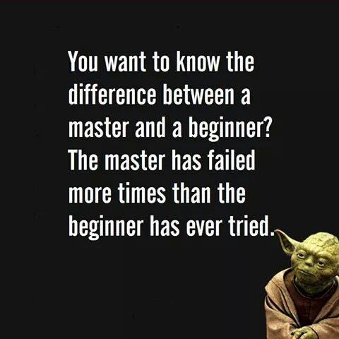 Master versus Beginner